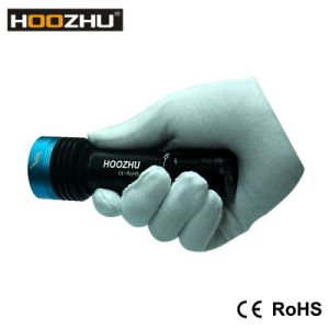Hoozhu V11 Diving Video Lantern Waterproof 100m Underwater Video Lantern pictures & photos