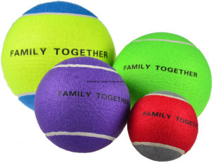 5 Inch Multi-Color Jumbo Tennis Ball pictures & photos