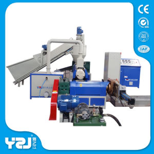Plastic Garbage Recycling Machine with PLC Control System pictures & photos