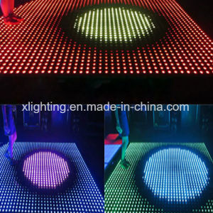 RGB Full Color PC /SD Control Interactive LED Dance Floor pictures & photos