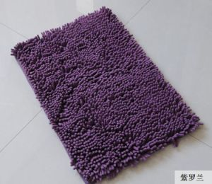 High Quality Long Pile Polyester Chenille Floor Room Mat pictures & photos
