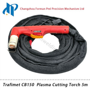 Trafimet CB150 Portable Plasma Welding Torch 5m with Central Connector pictures & photos