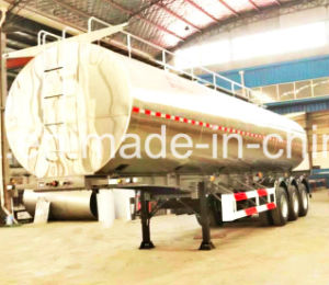 40-55 m3 Gas Fuel Tank Trailer, gas oil tank trailer pictures & photos