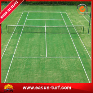 Free Samples Durable Artificial Grass for Sports Tennis Field pictures & photos