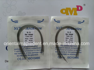 Dental Orthodontic Thermally Activated Niti Archwire (round) pictures & photos
