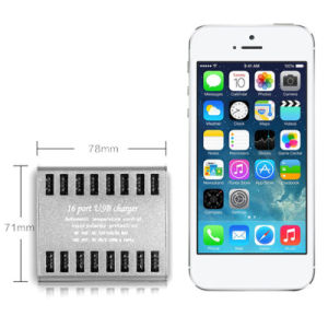 Portable Multi 16 Ports USB Charger for iPhone Tablet PC pictures & photos