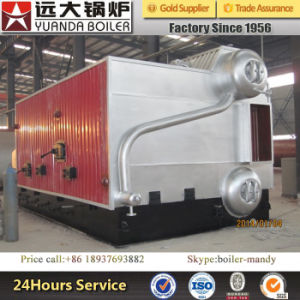 High Efficiency Wood Chip/Rice Husk/Biomass Fired Steam Boiler with Big Size Reburning Chamber pictures & photos