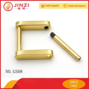 High Quality Zinc Alloy Square Shackle Buckle pictures & photos