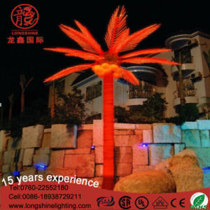 Outdoor LED Emulation Coconut Palm Tree Decoration Light for Christmas Ce RoHS pictures & photos