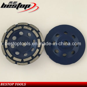 4 Inch Diamond Grinding Cup Wheel for Concrete pictures & photos