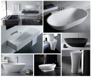 Best Price Solid Surface Bowl Shape Japanese Bathtub pictures & photos