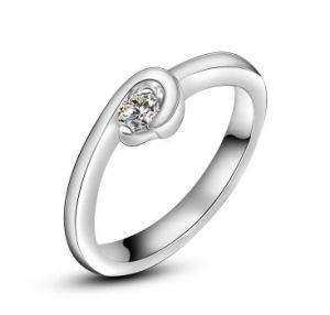 Stainless Jewelry Platinum Plating Wedding Ring pictures & photos