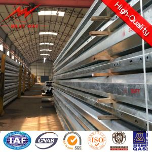 35FT Tapered Electrical Galvanized Steel Poles pictures & photos