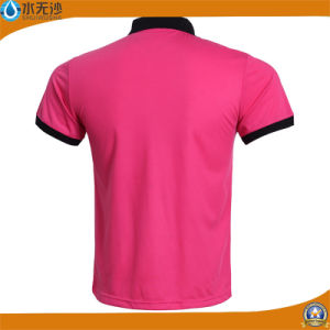 Wholesale Men Pique Polo Shirts Cheap CVC Polo T-Shirts pictures & photos