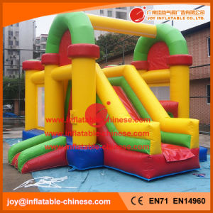 Funny Inflatable Jumping Castle Combo for Kids with Slide (T3-401) pictures & photos