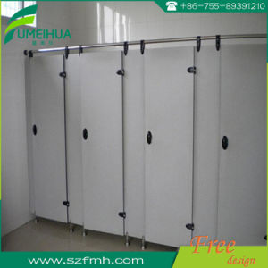 Nylon Accessories Cheap Bathroom HPL Cubicle Sets pictures & photos
