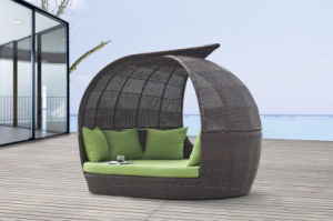 Outdoor Furniture Rattan Furniture Daybed pictures & photos