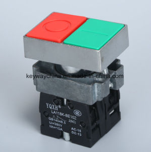 6V-380V Square Head Pushbutton Switch pictures & photos