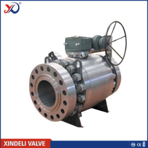 Factory API 6D Flange Forged Steel Trunnion Ball Valve pictures & photos