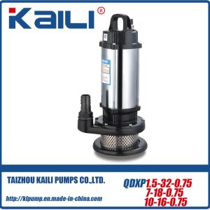 QDX QX Submersible Water Pump with Stainless Steel Case pictures & photos