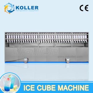 10 Tons/24h Ice Cube Machine with PLC Control System and Packing System for Ice Plant and Bars pictures & photos