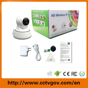 Home Surveillance 720p SD Card WiFi Wireless Dome IP Camera pictures & photos