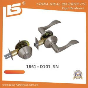 Door Tubular Door Cylindrical Lockset 1867+D101 Sn pictures & photos