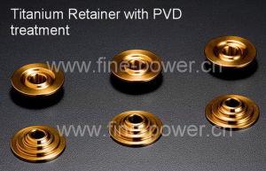 Titanium Retainer in Titanium Alloy Retainer for High Performance of Engines Titanium Spring Retainer