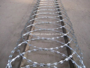 Crossed Coil Concertina Razor Barbed Wire pictures & photos
