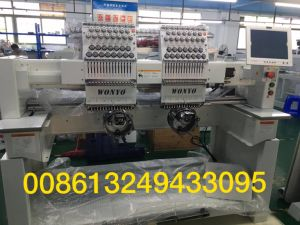 10 Inches Screen 2 Head Used Barudan Embroidery Machine pictures & photos