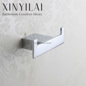 Modern Chrome Finish Bathroom Single Coat Hook pictures & photos