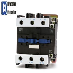 Cjx2-8011-380V Magnetic AC Contactor Industrial Electromagnetic Contactor pictures & photos