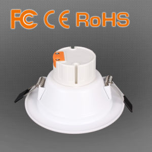 Indoor White and Polished LED Down Light with CE pictures & photos