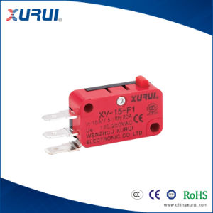 Xv-153-F1 15A/250VAC 3 Pins Push Button Electrical Swtich with Ce