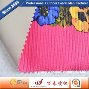 Polyester 600d Oxford Printed with PVC Fabric for Bag Tent Outdoor pictures & photos