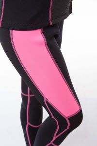 Anti-UV Smooth Skin Neoprene Women Scuba Diving Wetsuit (big discount) pictures & photos