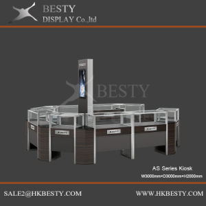 Customized Display Kiosks Island for Shop Fitting pictures & photos