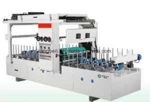 Cold Adhesive 600 TUV Certificated Mingde Brand Woodworking Wrapping Machine pictures & photos