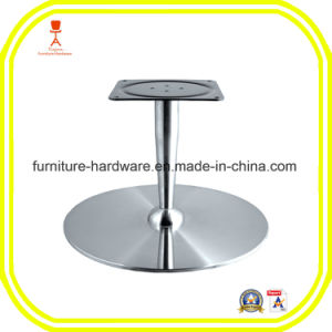 Furniture Hardware Parts Bar Stool Table Round Base Leg Aluminum pictures & photos