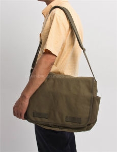 High Quality Cotton Canvas Made Messenger Bag pictures & photos