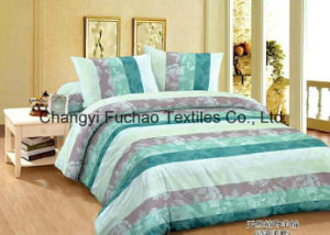 65/35tc Poly/Cotton Bedding Set Classic 5-Piece Modern Feather Home Textile pictures & photos