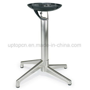 Wholesale Foldable Brushing Aluminum Alloy Table Base (SP-FTL073) pictures & photos