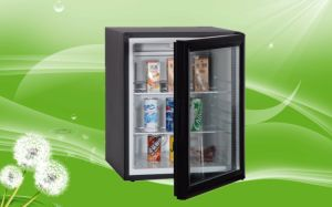 OEM Transparent Door Mini Cooler/Silent Absorption Fridge with Ce for 40 Liters pictures & photos