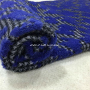 Bumped Jacquard Houndstooth Wool Fabric pictures & photos