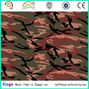 Oxford 1000d Cordura African Military Camouflage Printed Fabric pictures & photos