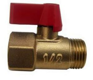 International Standard Mini Brass Ball Valve pictures & photos