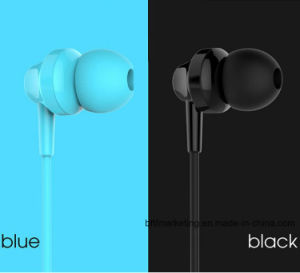 3.5mm Aux in-Ear Earphone for Samsung iPhone MP3 MP4 with Remote and Mic pictures & photos