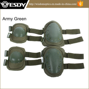Airsoft Paintball Military Skate Protective Sports Knee & Elbow Pads pictures & photos