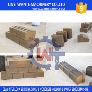 Moveable Clay/ Mud Interlocking Brick Machine with Sand Mold Technology pictures & photos