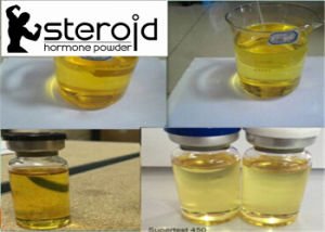 GMP Tren Test Depot 450 Injectable Semi-Finished Oil Muscle Gain pictures & photos